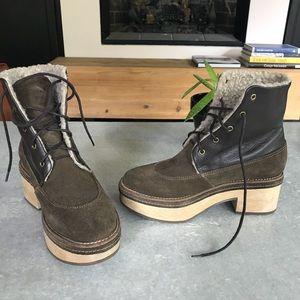 Amazing! Rachel Comey platform booties